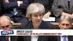 Raw Politics: Brexit chaos, Macron's address, Germany's 'mini Merkel' [Video]
