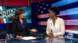 Miss Colorado Ellery Jones opening discussion about sexual assault, harassment on college campuses [Video]