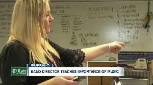 She's one of five band teachers worldwide to receive a special honor. And she teaches in Buffalo. [Video]