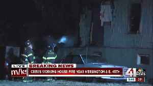 No injuries in early-morning house fire [Video]