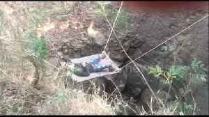 Unlucky thief has to be rescued after falling into Indian village well [Video]