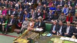 UK PM May says will delay parliament vote on Brexit deal [Video]