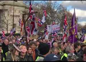 Imminent Brexit Vote Sparks Demonstrations at Westminster [Video]