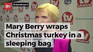 What Famous Chef Wraps Turkey In A Sleeping Bag [Video]