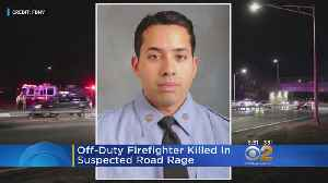 News video: Firefighter Killed In Apparent Road Rage Incident