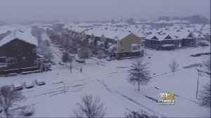 Massive Snowstorm Hits The South, Including Parts of Maryland, Virginia [Video]