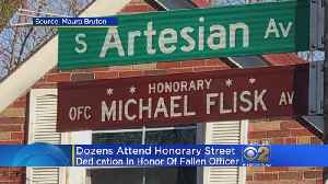 Beverly Street Named After Fallen Chicago Police Officer [Video]