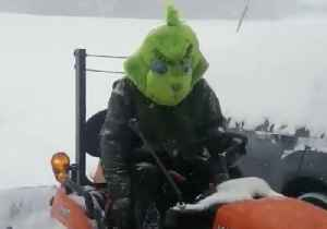 How 'The Grinch' Plows Snow in North Carolina [Video]