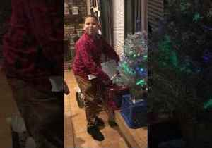 'No You Didn't!' - Boy Has Sweetest Reaction to Surprise Christmas Gift [Video]