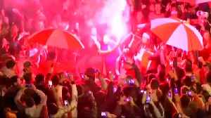 River Plate fans are Sol of the party in Madrid