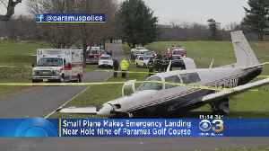 Small Plane Makes Emergency Landing On New Jersey Golf Course [Video]