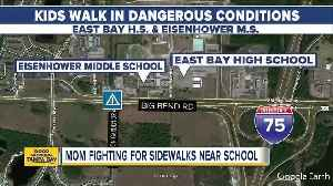 East Bay H.S. mom posts video about unsafe roads [Video]