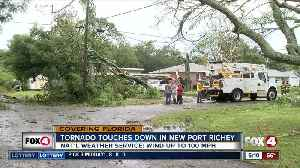 NWS confirms tornado in New Port Richey [Video]