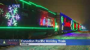 See The Canadian Pacific Holiday Train In Minnesota [Video]