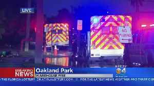 Early Morning Fire Damages Oakland Park Storage Facility [Video]