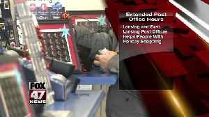 Car giveaway at repair Post office extends hours for holidaysin Jackson [Video]