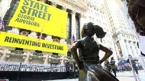 WEB EXTRA: Fearless Girl Statue Moved [Video]