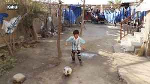 'Little Messi' forced to flee home after Taliban threats [Video]