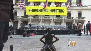 'Fearless Girl' Statue Gets New Stock Exchange Home [Video]