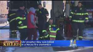 Worcester Mourns The Loss Of Firefighter Christopher Roy [Video]