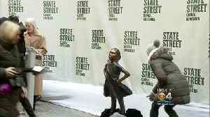 Iconic 'Fearless Girl' On The Move [Video]