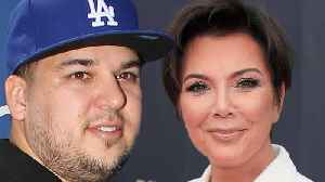 Kris Jenner Putting Broke Rob Kardashian Back To Work On KUWTK [Video]