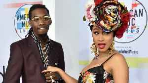 Offset said he misses Cardi B on Twitter...while Cardi rapped about getting a divorce [Video]