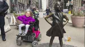 'Fearless Girl' Statue Gets A New Home [Video]