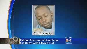 Police Arrest Man Accused Of Punching Infant With Closed Fist [Video]