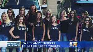 North Texans Who Didn't Get All The Taylor Swift Tickets They Bought Contact The Ones For Justice [Video]