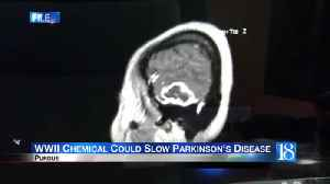 World War II chemical could slow Parkinson's Disease according to Purdue research [Video]