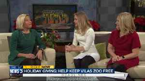 How to help keep tradition of Henry Vilas Zoo going during the holidays [Video]