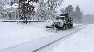 Snow Storm Kills One, Thousands Without Power In U.S. Southeast [Video]
