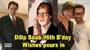 Happy Birthday Dilip Saab; Wishes pours in [Video]