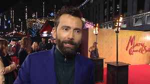 David Tennant speaks about his role in the movie 'Mary Queen of Scots' [Video]