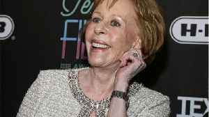 New Golden Globes Honor Will Be Named After TV Comedian Carol Burnett [Video]
