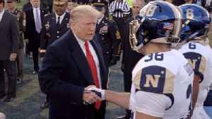 Trump At Exciting Army Vs. Navy Game [Video]