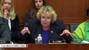 Rep. Zoe Lofgren Asks Pichai During Hearing: Why Does Image Of Donald Trump Show Up While Searching For 'Idiot' On Google? [Video]