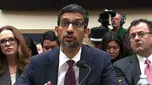 Google CEO Sundar Pichai questioned on tracking of users' locations [Video]