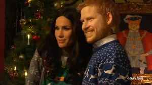 Prince Harry and Meghan Markle's Wax Figures Come to Life at Museum [Video]