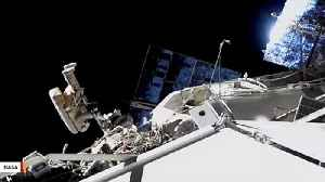 International Space Station Crew Spacewalking To Inspect Mystery Hole [Video]