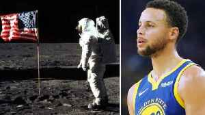 Steph Curry Says He Doesn't Believe Americans Landed on the Moon [Video]