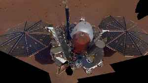 NASA's InSight Takes A Selfie On Mars [Video]