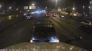 Car Suddenly Stops in Middle of Highway [Video]