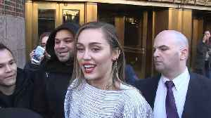 Miley Cyrus Calls Out Fans for Smoking Pot While Promoting New Song [Video]