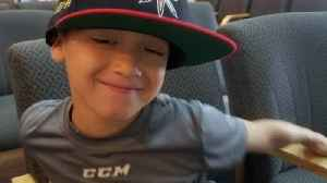 Benefit skate on schedule for Jr. Golden Knight fighting cancer [Video]