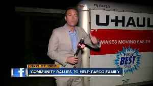 Pasco neighbors help family forced out of home after Sunday's EF-1 tornado [Video]