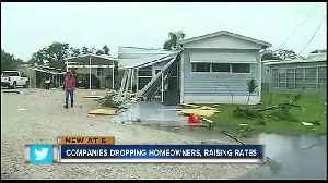 Florida insurers drop thousands of homeowner's policies [Video]