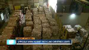 Pinellas and Hillsborough officials warn against recycling Christmas decorations [Video]