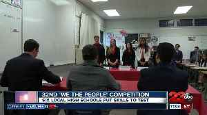 """Arvin High School advances to state championship for 32nd """"We The People Competition"""" [Video]"""